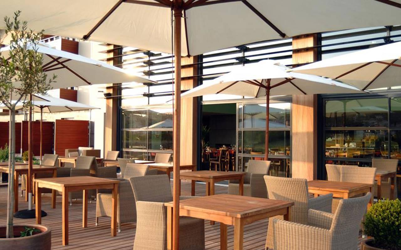 Terrace - Hotel perignat les sarlieve
