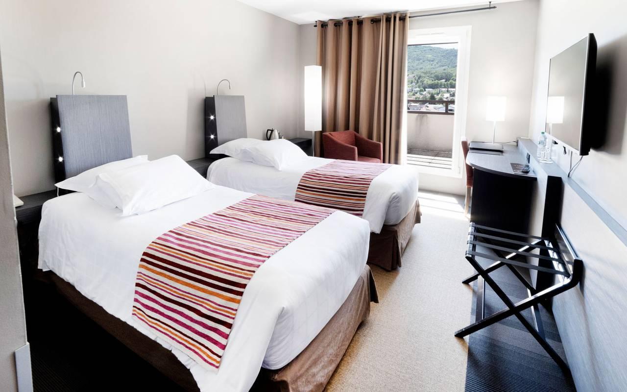 Twin room - Hotel perignat les sarlieve
