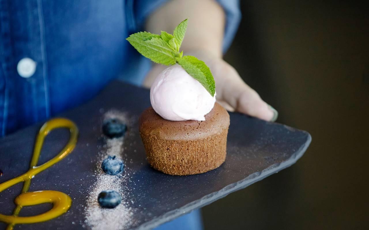 Chocolate fondant - restaurant clermont ferrand