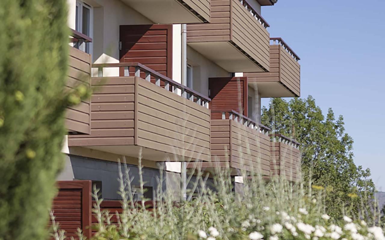 Balcony - accommodation near clermont ferrand