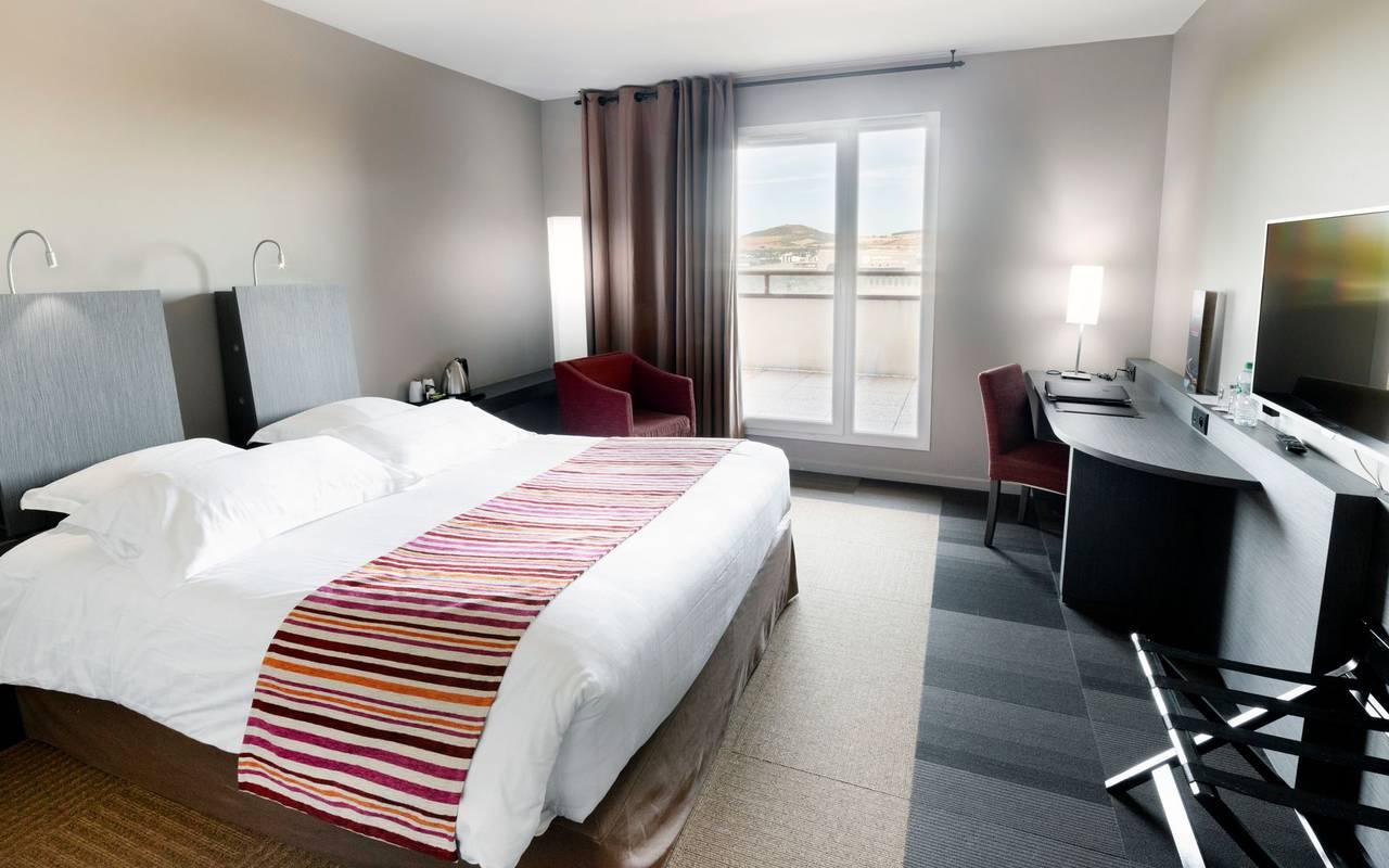 Chambre double - Hotel proche Clermont Ferrand