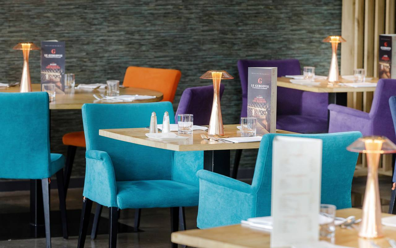 Salle de restaurant - restaurant le gergovie